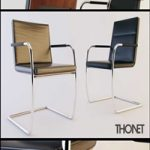 Thonet S60 & S61 Chair 3D Model