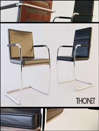 Thonet S60 & S61 Chair 3D Model
