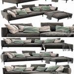 Flexform Romeo Chaise Lounge