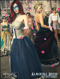 Almirena Dress Textures