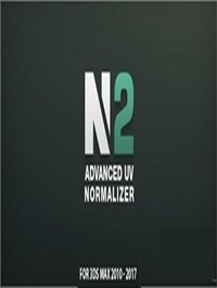 Advanced UV Normalizer v2.4.4 for 3ds Max 2010 - 2021