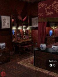 FG Fancy Asian Hotel Room