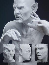 Fantasy Creature Creator HD Morph Pack for Genesis 3 Male