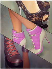 Beautiful Shoes Collection for Genesis 8 Female(s)
