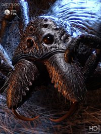 Giant Monster Spider HD
