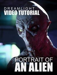 Portrait Of An Alien Video Tutorial
