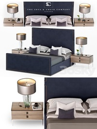 Bed HOLLAND The Sofa Chair Company Luxury bed