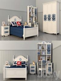 Children's room ocean