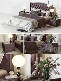 Bedroom Askona fixtures from the designer Fredrik Mattson