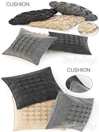 Wool cushions set