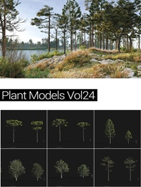 MAXTREE Plant Models Vol 24
