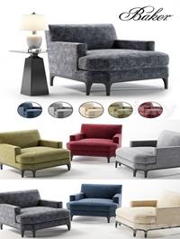 Baker Celestite Lounge Chair