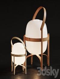 Cestita Batería floor & table lamp