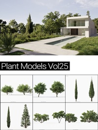 MAXTREE Plant Models Vol 25