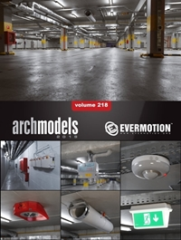 EVERMOTION Archmodels vol. 218
