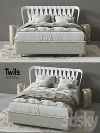 Bed Twils NATURAL