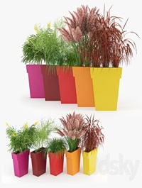 IL VASO OUTDOOR PLANTER colors