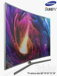 Samsung SUHD 4K Curved Smart TV JS9502