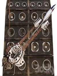 Coma's guitar