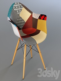 Chair Eames dsw patchwork