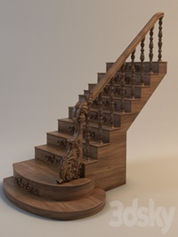 Stairs Wooden