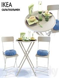 Table and Chair SALTHOLMEN Ikea Saltholmen