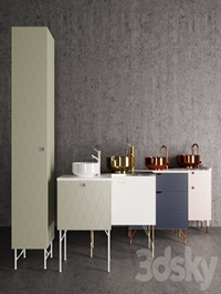The Range of Bathroom Furniture for SU SUPERFRONT