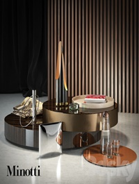 Decorative set Minotti 1