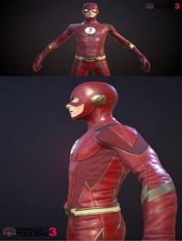 The Flash 3D Model