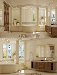 Bathroom Scene by Nguyen Duc