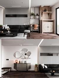 Kitchen Livingroom Scene By DinhVanHuan