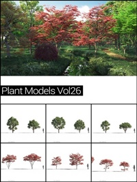 MAXTREE Plant Models Vol 26