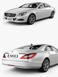Mercedes-Benz CLS 2011 3D model