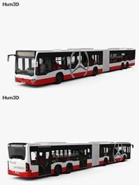 Mercedes-Benz CapaCity L 4-door Bus with HQ interior 2014 3D model