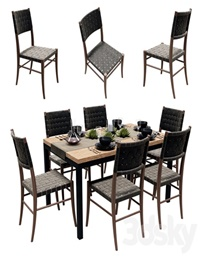 Crate and Barrel Dining Table