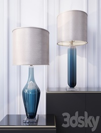 Table lamps UTTERMOST 26191 26193
