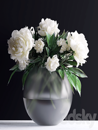 Bouquet in a vase 78