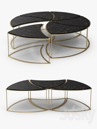 The sofa and chair company Orion coffee and side table