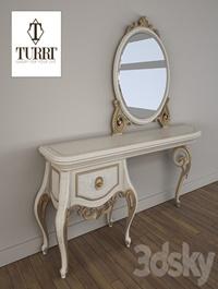 Dressing table Turri Baroque TC153L