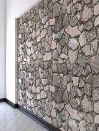 Butovaya masonry from natural stones