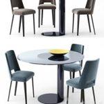 Gallotti Radice table and chair Oto Thea