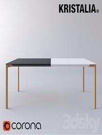 Kristalia Boiacca Wood Table
