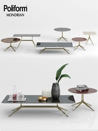 Poliform Mondrian Coffee Tables 1