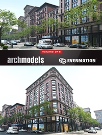 EVERMOTION Archmodels vol 215
