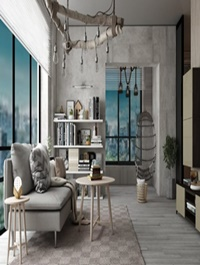 Livingroom Interior Scene By NguyenThanhPhuong
