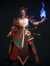 Artstation Azula Avatar 3D Model