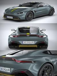 Aston Martin Vantage AMR 2020 3D Model
