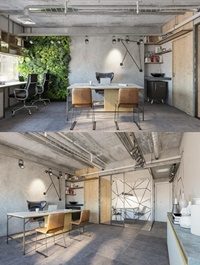 Interior Office Room Scene By DuyPham