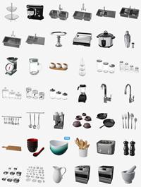 Poliigon Interior & Kitchen 3d Models