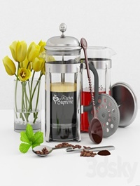 French, Press, Coffee, &,Tea, Maker ,Kitchen, supreme